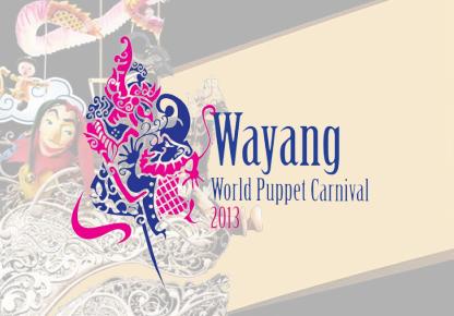 Wayang World Puppet Carnival 2013