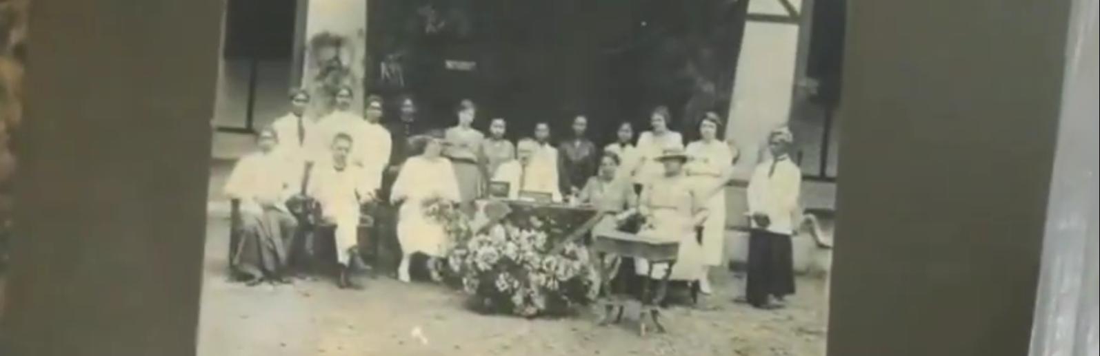 Restoration of Historical Photos of RM Margono Djojohadikusumo's Family